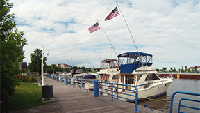 Charters fishing Lake Michigan in Sheboygan, Wisconsin