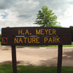 H. A. Meyer Nature Park. Plymouth, Wisconsin