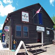 The Warf bait and tackle shop in Sheboygan, Wisconsin
